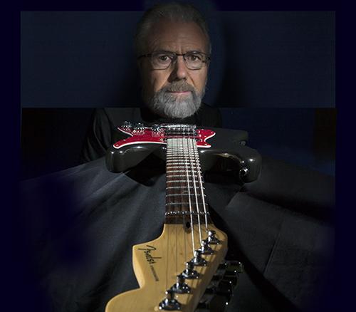 Photo of David Bazemore and Guitar