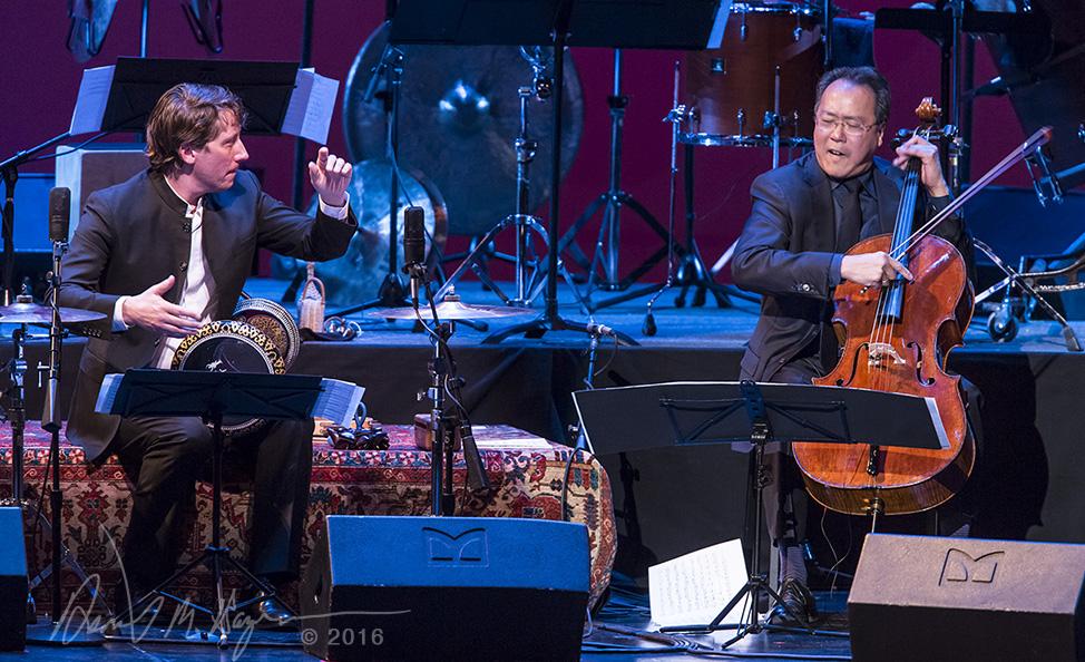 UCSB Arts & Lectures - The Silk Road Ensemble 2/21/15 Granada Theatre