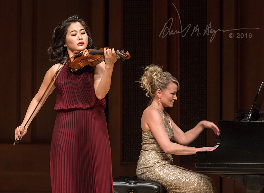 Kristin Lee & Molly Morkoski, Camerata Pacifica 3/4/16 Hahn Hall