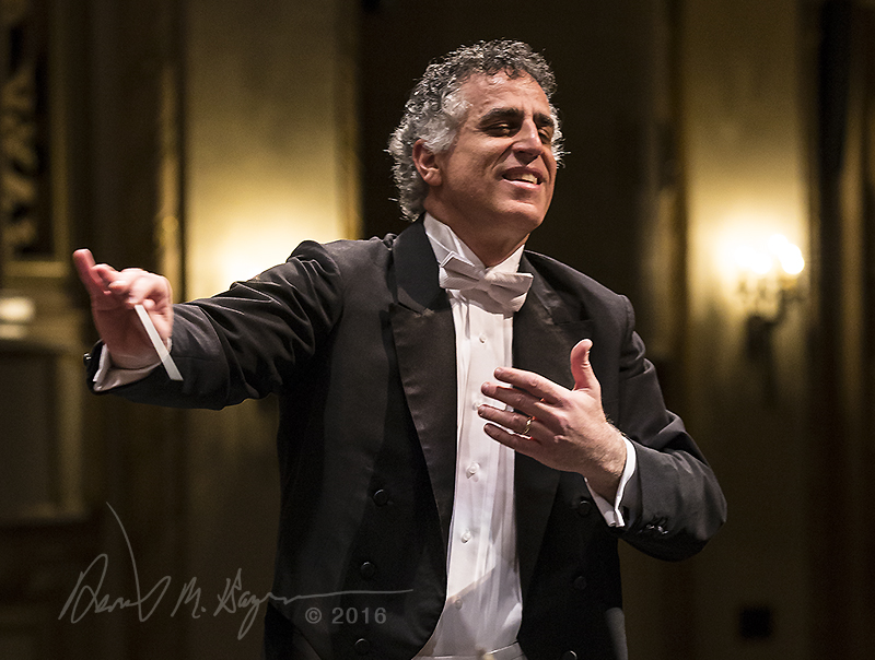 Nir Kabaretti conducts the Santa Barbara Symphony Orchestra 3/12/16 Granada Theatre