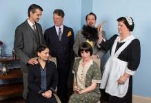 "The cast of Ensemble Theatre Company's production of Noel Coward's ""Fallen Angels"" 6/1/16 New Vic Theatre"