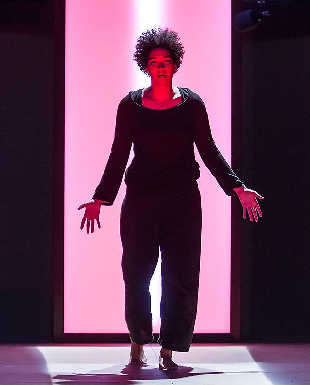 """Ojai Music Festival - Soprano Julia Bullock as Simone Weil in """"La Passion de Simone"""" 6/9/16 Libbey Bowl"""