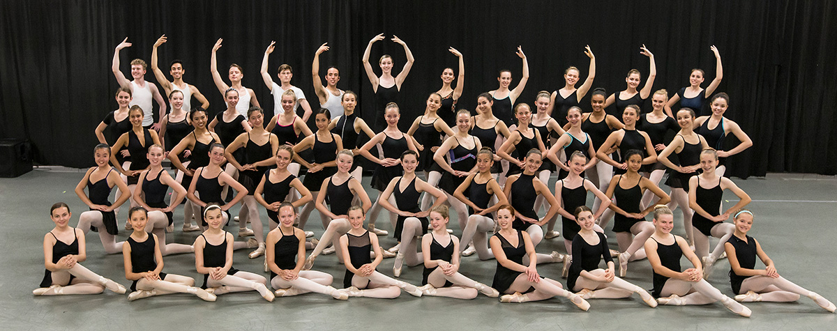 State Street Ballet Summer Intensive participants 6/29/16 Gail Towbes Center for Dance