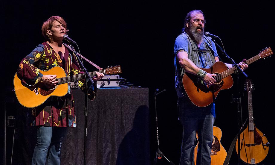 Shawn Colvin and Steve Earle @ the Lobero Theatre 9/6/16