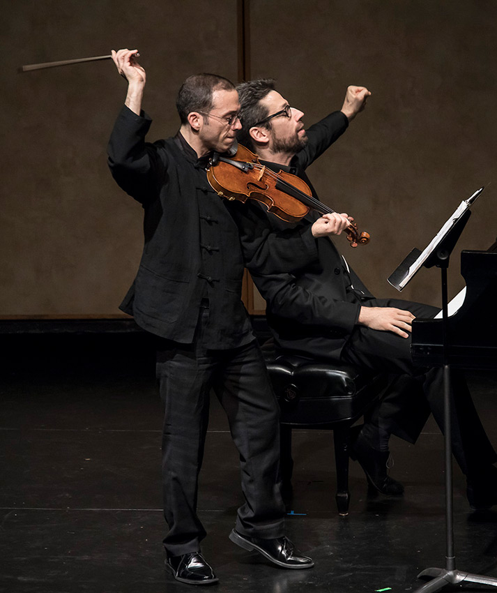 Mark Steinberg and Jonathan Biss, Beethoven's Sonata in G Major for Violin and Piano, Op.96 - CAMA Santa Barbara 10/17/16 Lobero Theatre