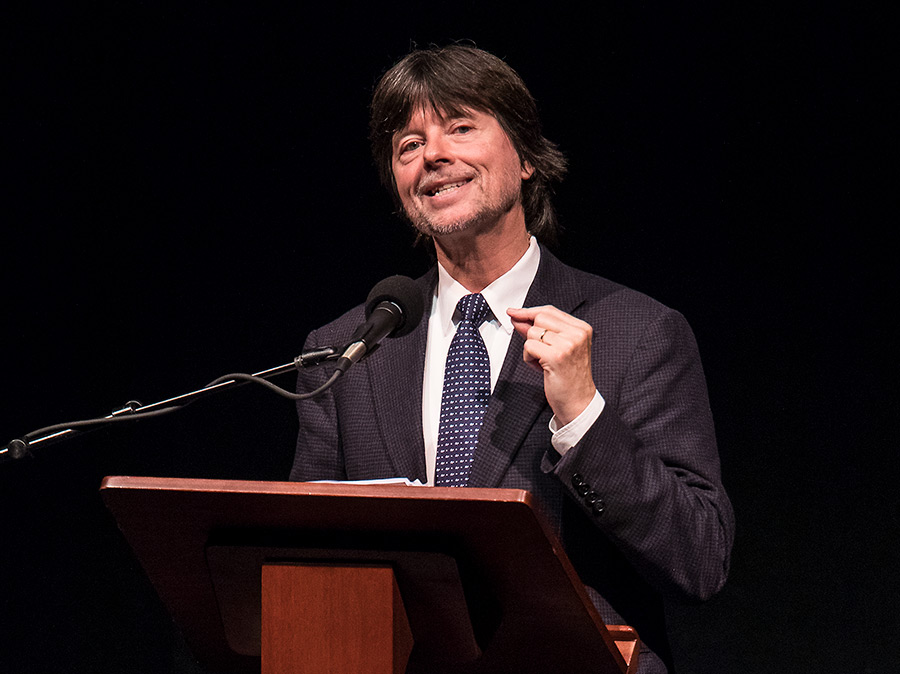 "UCSB Arts & Lectures: Ken Burns - ""The National Parks: America's Best Idea"" 10/2/16 Granada Theatre"