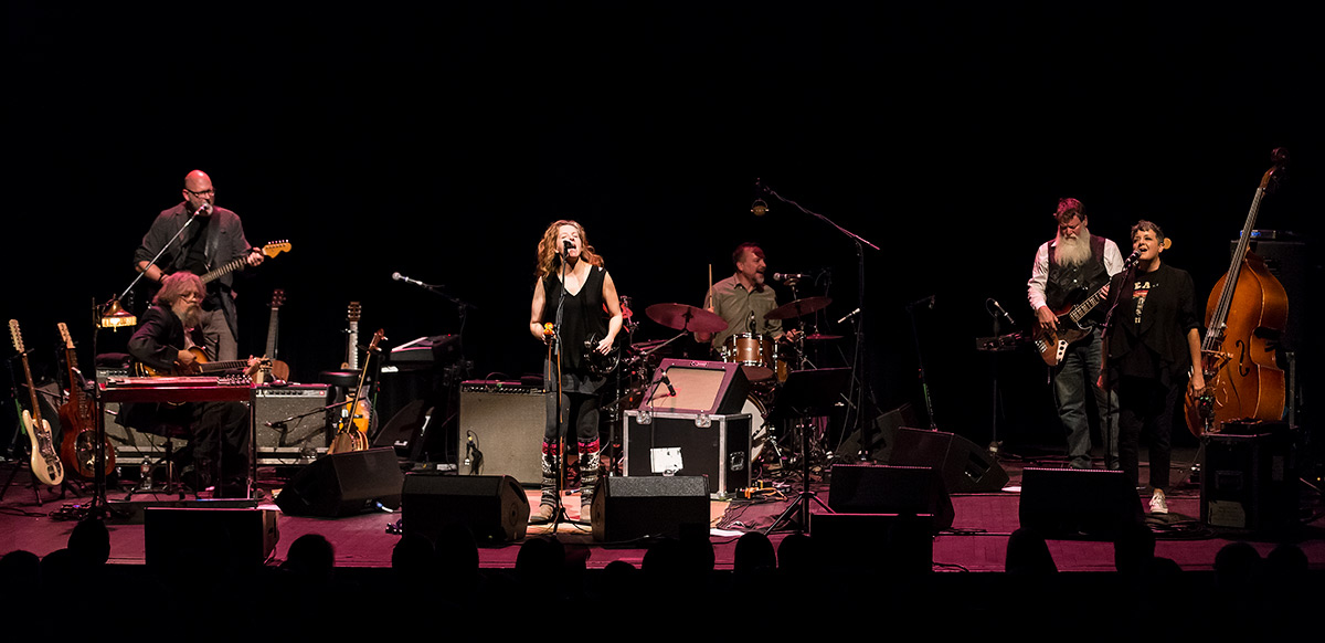 Neko Case and band - UCSB Arts & Lectures 11/18/16 Campbell Hall