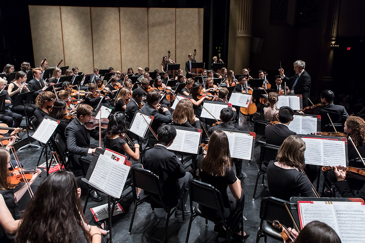 Andy Radford conducts the Santa Barbara Youth Symphony 11/13/16 Lobero Theatre