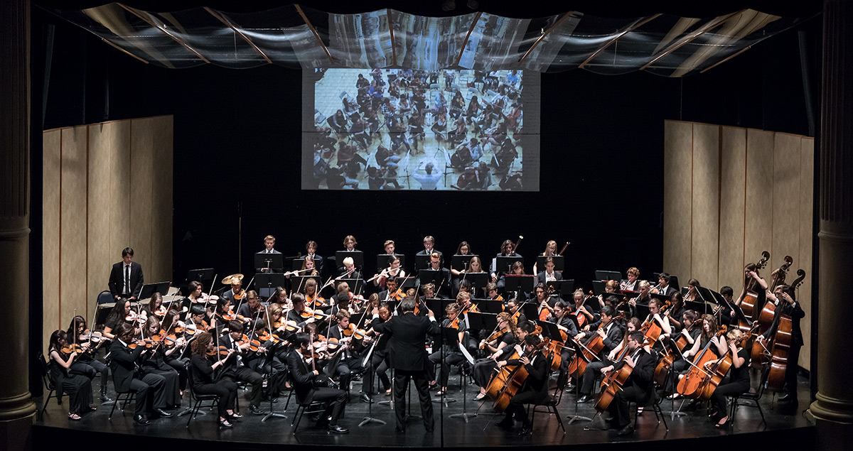 The Santa Barbara Youth Symphony 11/13/16 Lobero Theatre