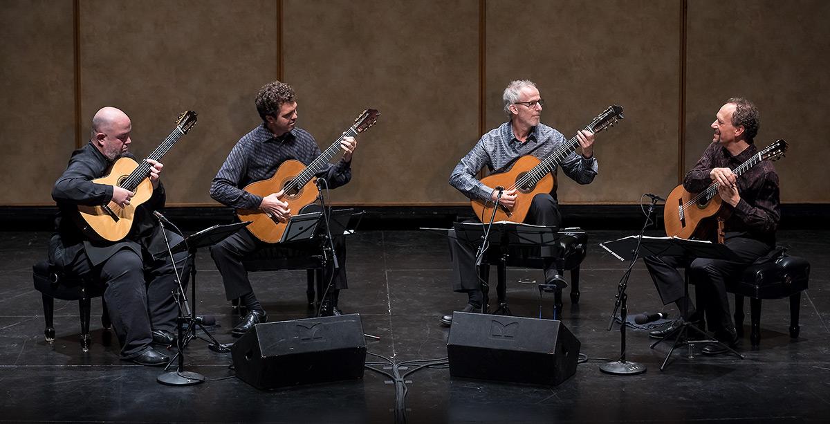 The Los Angeles Guitar Quartet - Lobero Jazz Series 10/28/16 Lobero Theatre