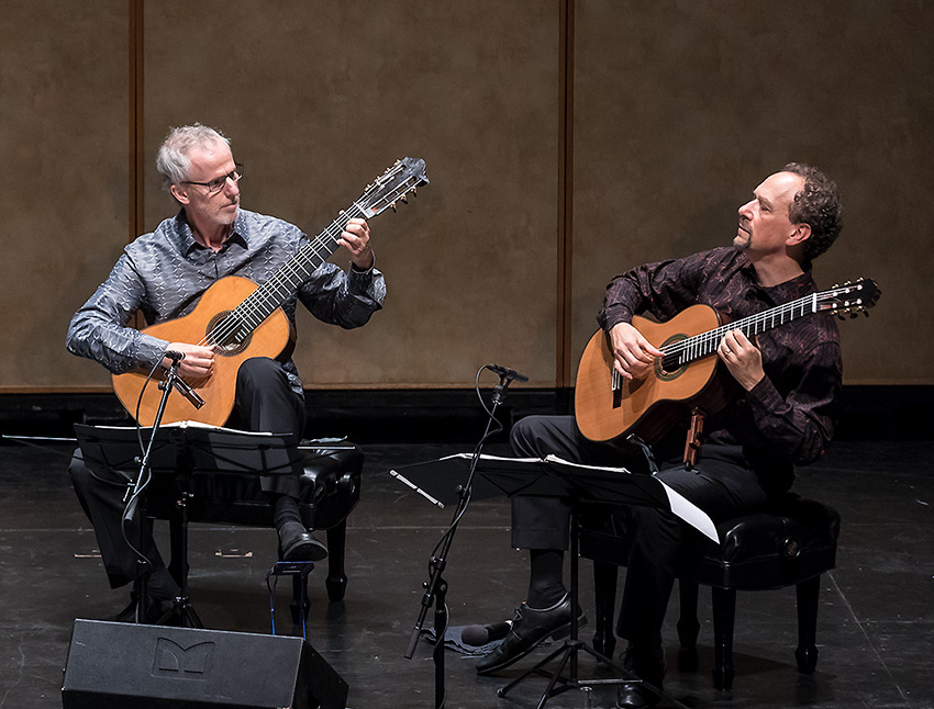 John Dearman and William Kanengiser, LAGQ - Lobero Jazz Series 10/28/16 Lobero Theatre