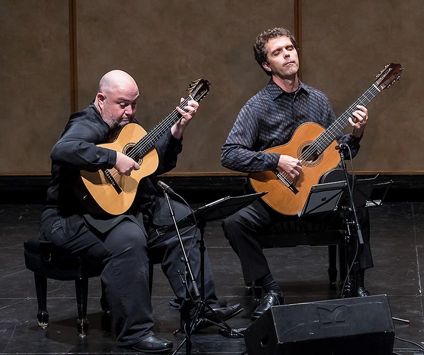 Scott Tennant and Matthew Greif, LAGQ - Lobero Jazz Series 10/28/16 Lobero Theatre