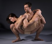 "Deise Mendonça and Thomas Fant - State Street Ballet's ""The Rite of Spring"" publicity 2/8/17 The Gail Towbes Center for Dance"