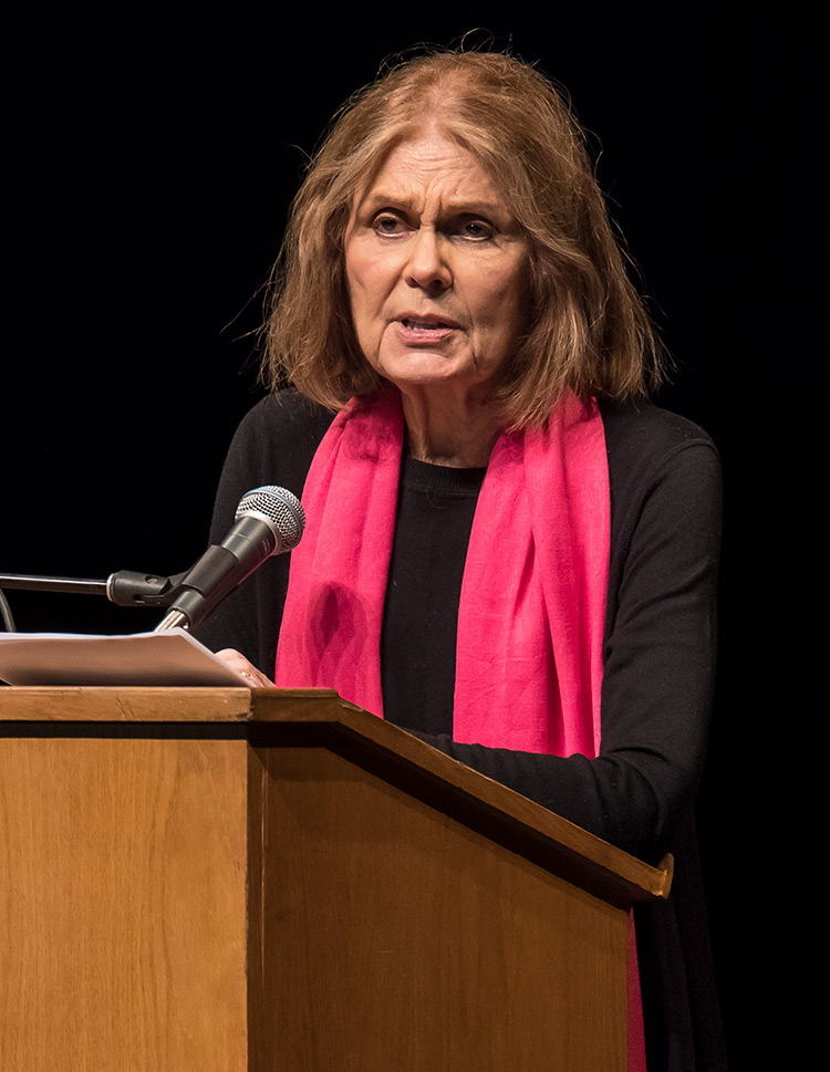 Gloria Steinem - UCSB Arts & Lectures 3/2/17 The Arlington Theatre