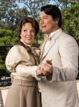 "Karen Wolverton (Magda) & Adam Diegel (Ruggero) - Opera Santa Barbara's ""La Rondine"" location publicity photo 4/13/17 Hope Ranch residence"