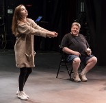 ETC Young Actors Conservatory improv session led by Michael Bernard with actor George Wendt 7/20/17