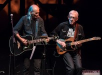 Jimmy Dale Gilmore and Bill Kirchen perform at Sings Like Hell 7/29/17 The Lobero Theatre